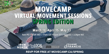 MoveCamp Virtual Movement Sessions – Spring Edition tickets