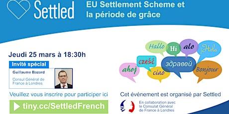 EU Settlement Scheme et la période de grâce billets
