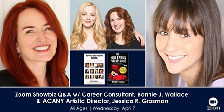 Zoom Showbiz Q&A w/ Hollywood Career Consultant, Bonnie J. Wallace and Arti tickets