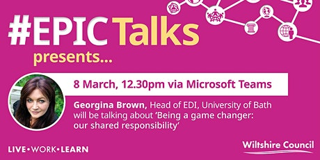 International Women's Day 'Being a Game Changer: Our Shared Responsibility' tickets
