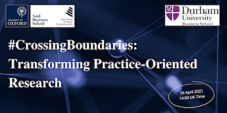 #CrossingBoundaries: Transforming Practice-Oriented Research tickets