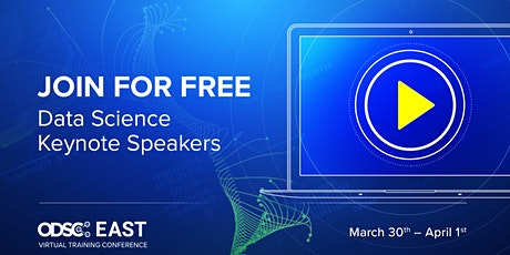 FREE  Access to Opening Keynotes | ODSC East Virtual Conference 2021 tickets