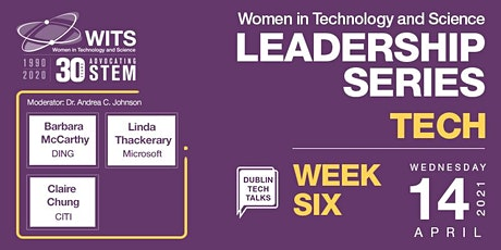 WITS Female Leadership Series 2021- Session 6 Tech Tickets