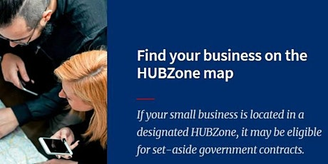 GC 101 Part 2  - The HUBZone Certification Program tickets