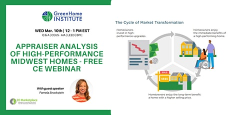 Appraiser analysis of high-performance Midwest Homes - Free CE Webinar tickets