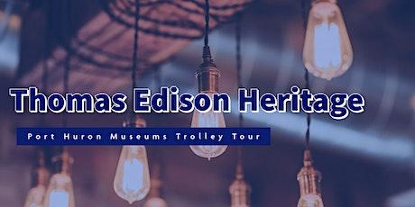 2021 Thomas Edison Trolley Tours tickets
