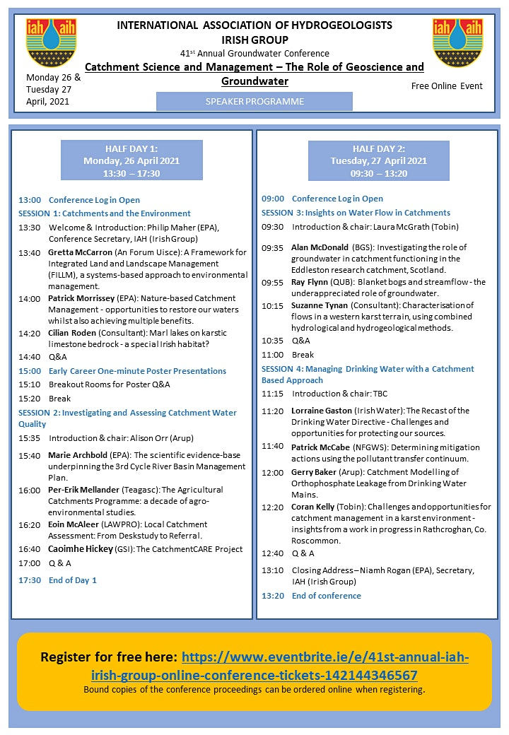 41st Annual IAH (Irish Group) Online Conference image