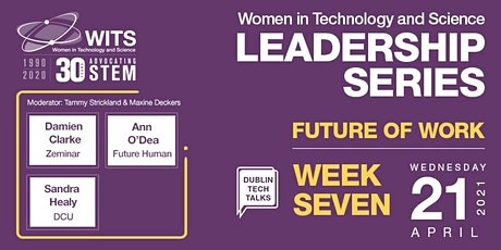 WITS Female Leadership Series 2021- Session 7 Future of Work tickets