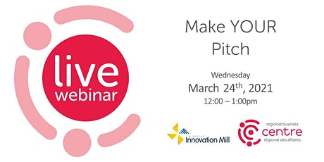 Make Your Pitch tickets