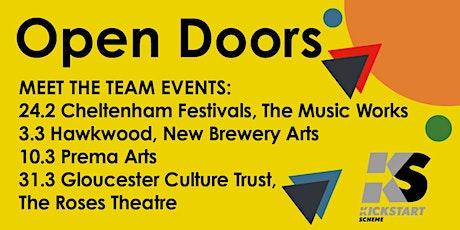 Open Doors - kickstart your arts career with Hawkwood tickets