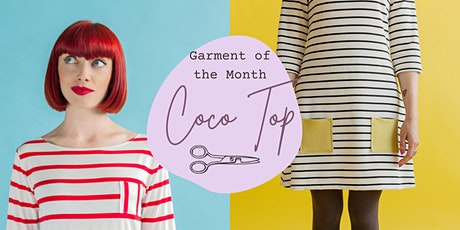 Make Your Own Coco Top - Garment of the Month tickets