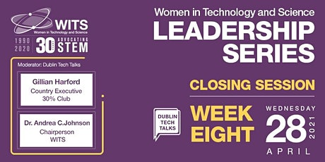 WITS Female Leadership Series 2021-Session 8 Closing Event Tickets