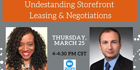 37 Oaks' Bob & Weave: Understanding Storefront Leasing & Negotiations tickets