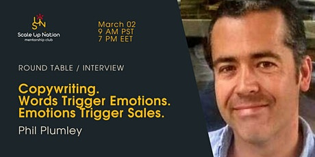Copywriting. Words Trigger Emotions. Emotions Trigger Sales. tickets