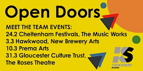 Open Doors - kickstart your arts career with the Roses Theatre tickets