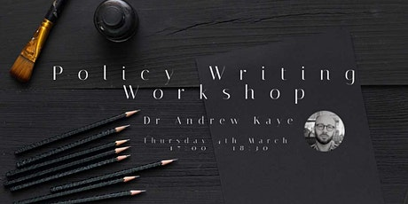 Policy Writing Workshop tickets