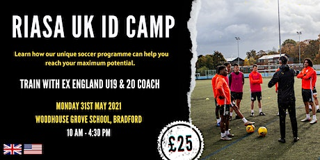 RIASA SOCCER ACADEMY | UK FOOTBALL EVENT tickets