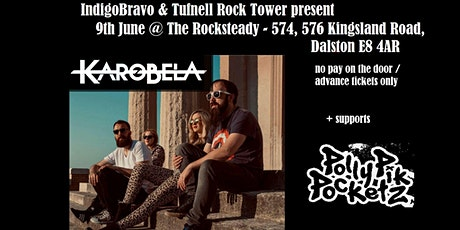 Tufnell Rock Tower & Indigo Bravo promotions present : Karobela + supports tickets