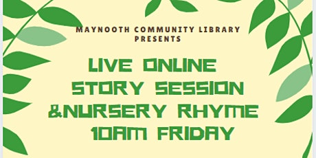 Live Story Time & Sing Along Nursery Rhymes March 5th tickets