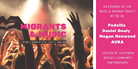 Migrant Rights & Music:  live music from your sofa tickets