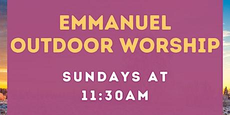 Emmanuel Episcopal  Outdoor Service - 2/28/21 tickets