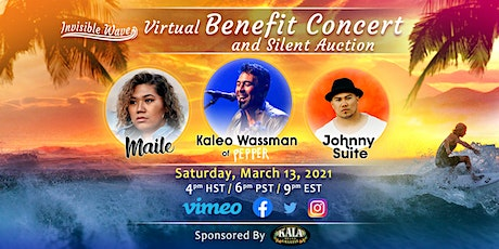 Invisible Wave Benefit Concert and Silent Auction tickets