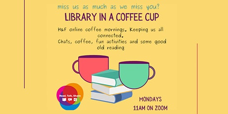 Library in a Coffee Cup tickets