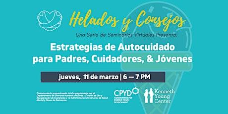 Helados y Consejos: Estrategias de Autocuidado para Padres & Jóvenes boletos