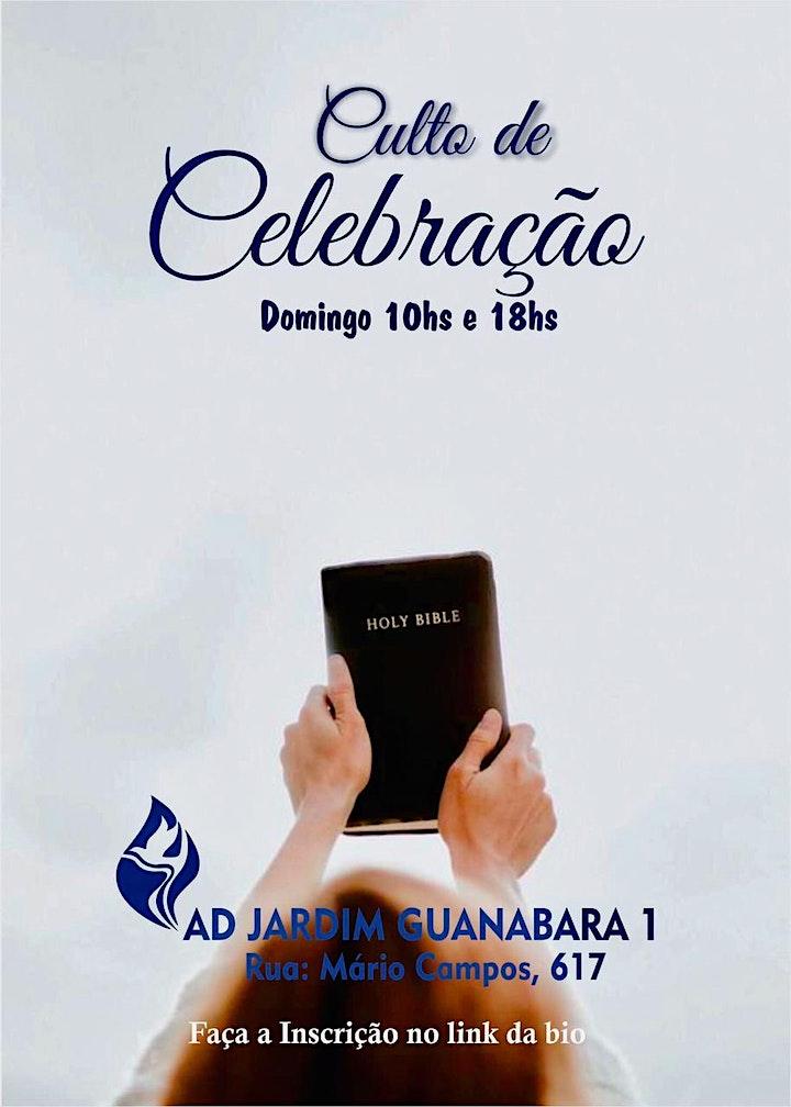 Imagem do evento Culto de Celebração - Domingo Noite - 18h