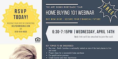 Home Buying 101 Webinar tickets
