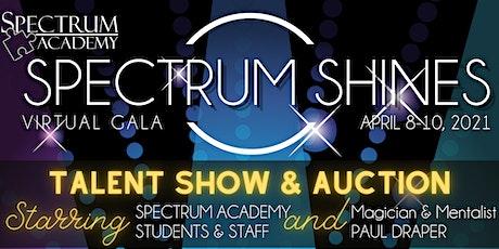 Spectrum Shines Virtual Gala 2021 tickets