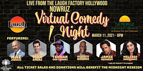 2021 Nowruz Comedy Night Tickets