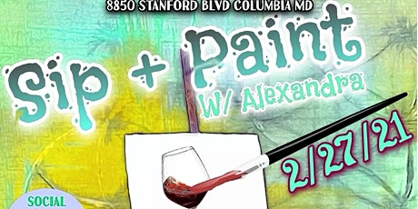 Sip and Paint Night tickets