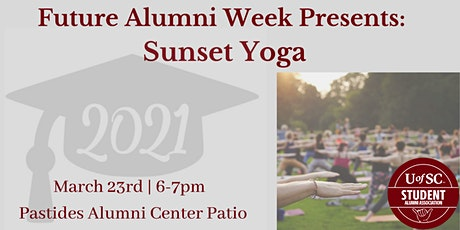 Future Alumni Week: Sunset Yoga tickets
