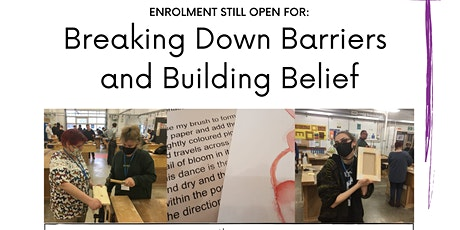 Creative Opportunities Info - Breaking Down Barriers & Building Belief tickets