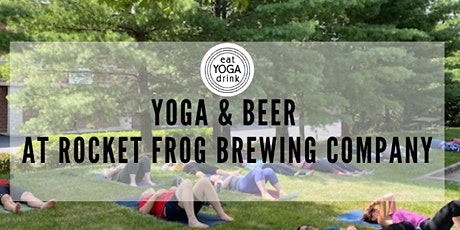 Yoga & Beer at Rocket Frog Brewing tickets