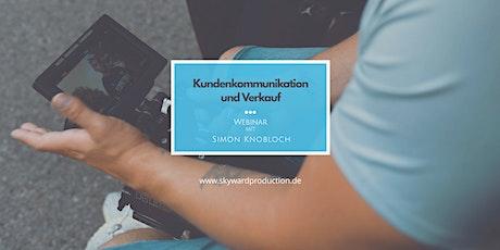 Kundenkommunikation und Verkauf Tickets
