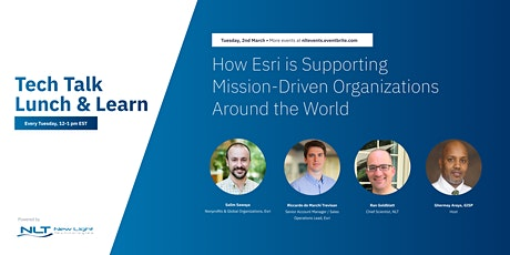 How Esri is Supporting Mission-Driven Organizations Around the World tickets