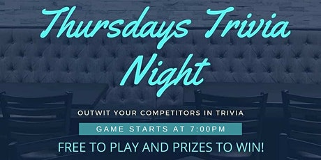 Trivia Thursdays Free to Play tickets