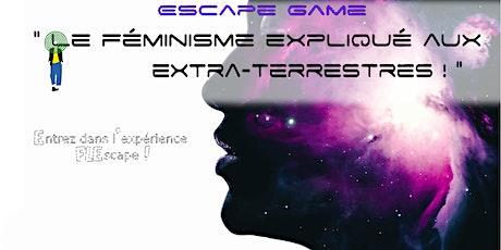 Escape Game Numérique Le Féminisme expliqué aux  extra-terrestres ! billets