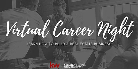 Virtual Career Info Session: How to Build a Successful Real Estate Business tickets
