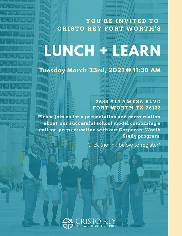 Cristo Rey Fort Worth: Lunch + Learn image