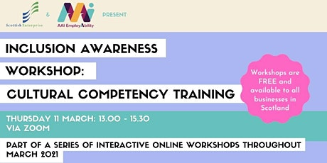 Inclusion Awareness Workshop: Cultural Competency Training tickets