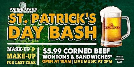 Wild Eagle Steak & Saloon St. Patrick's Day Bash tickets