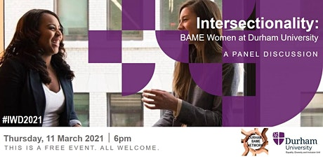 Intersectionality: BAME Women at Durham University tickets