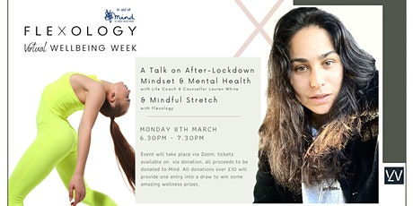 A Talk on Lockdown Mental Health + Mindful Stretch. In aid of Mind tickets