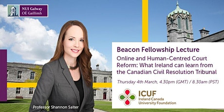 Beacon Online Lecture with Professor Shannon Salter tickets