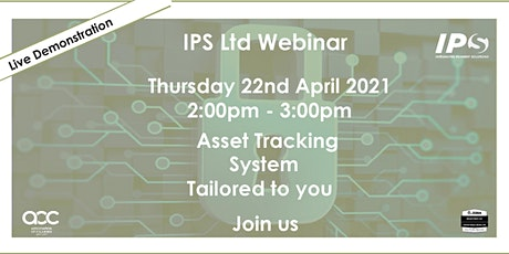 i-Asset Webinar - IPS Ltd Showcases its NEW Asset Tracking System tickets