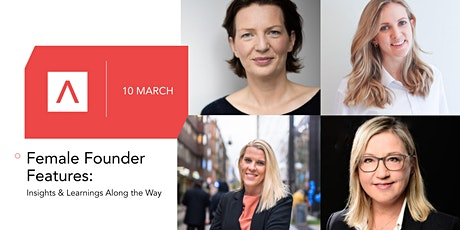 Female Founder Features: Insights & Learnings Along the Way tickets