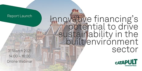 Innovative financing's potential to drive sustainability tickets